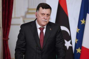 Libyan Prime Minister Fayez al-Sarraj