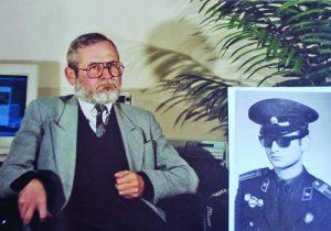 Старшина школник в редакцията, след това старши лейтенант от запаса, а днес, професор Кирил Кертиков