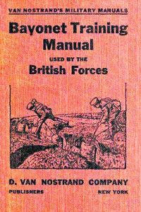 Английски учебник по бой с щикове, издаден през Първата световна война