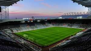 st-james-park-sunset newcastle