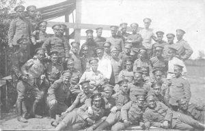 3b-Офицери от 53-и пех. полк на Серетския фронт, 3 юни 1917, инв