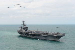 USS Theodore Roosevelt operations