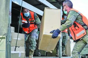 Czech medical aid arrives in Spain