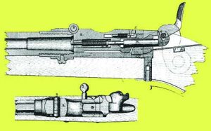 Пушка Баранов 1869 в разрез