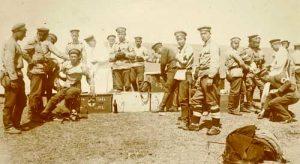 Импровизиран превързочен пункт на Добруджанския фронт през есента на 1916 г.
