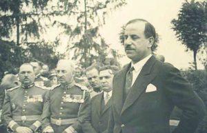 Част от българсксата делегация за официалното откриване на Про Патрия на 21 май 1936 г.