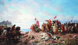 'Битката при Варна' (худ. Ст. Хлебовски)