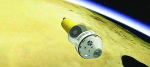 'Старлайнър' на корпорацията 'Боинг' ще бъде първата американска капсула, проектирана за кацане на твърда земя - с парашути.  Фото Boeing/Youtube