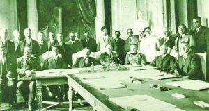 5-Работно заседание по време на преговорите в Крайова