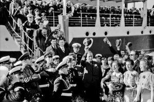 Акостиране на кораба Бургас на балчишкото пристанище, 21 септември 1940 г.