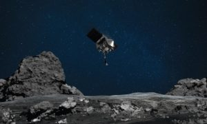 "Сондата ""Озирис-Рекс"" взе проба от астероида ""Бeну"""