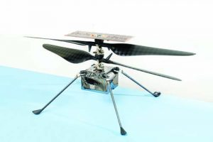 Mars Helicopter Final Configuration - Retouched Media Images