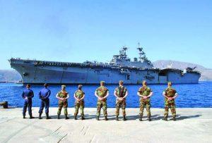 Американците ще инвестират 53 млн. в гръцката база 'Суда' на остров Крит