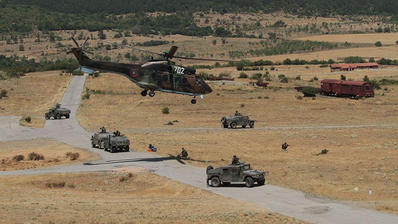Многонационални военни учения ще се проведат на територията на страната
