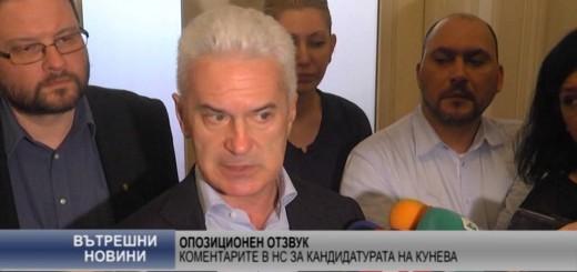 Коментарите в НС за кандидатурата на Кунева