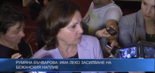 Румяна Бъчварова: Има леко засилване на бежанския наплив