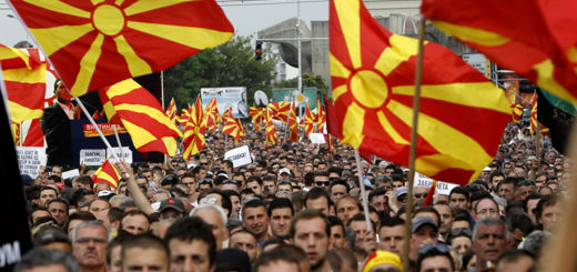 Macedonia Anti Government Protest