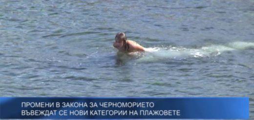 Въвеждат се нови категории на плажовете по Черноморието