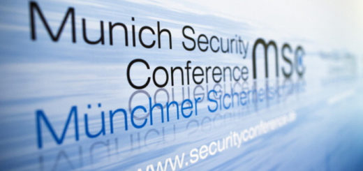 MUNICH, GERMANY - FEBRUARY 01: The Logo of the Munich Security Conference is pictured on day 1 of the 49th Munich Security Conference at Hotel Bayerischer Hof on February 1, 2013 in Munich, Germany. The Munich Security Conference brings together senior figures from around the world to engage in an intensive debate on current and future security challenges and  remains the most important independent forum for the exchange of views by international security policy decision-makers.  (Photo by Thomas Trutschel/Photothek via Getty Images)