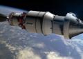 Китай изстреля първия тричленен екипаж до новата си космическа станция