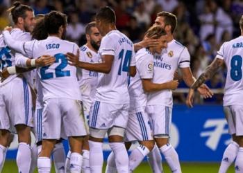 Реал (Мадрид) се потруди срещу Осасуна, но се доближи на две точки от лидера