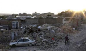 zemetresenie Iran-Irak
