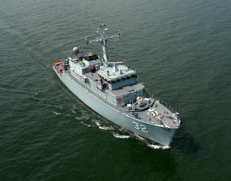 Продължава операцията на Военноморските сили за търсене на елементи от МиГ-29, паднал в морски води край Шабла