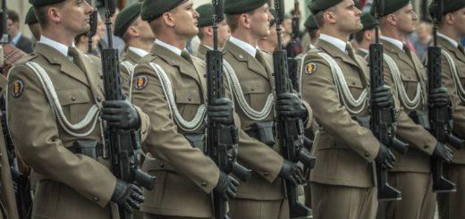 полски войници с GROT M1