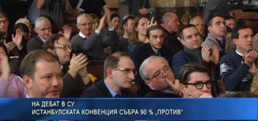 """На дебат в СУ: Истанбулската конвенция събра 90 % """"против"""""""