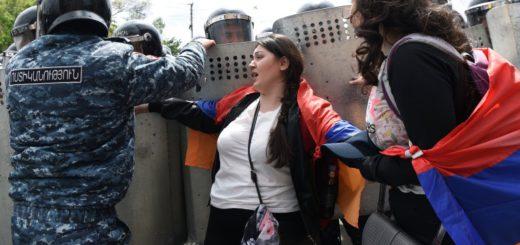 Armenia-protesti