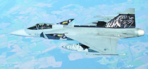 Painted Czech Gripen