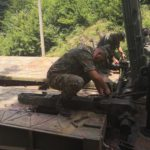 Военнослужещи от Сухопътните войски в помощ на населението в община Белене