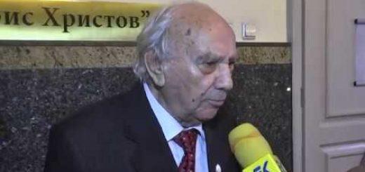 Доайенът на спортните журналисти Сашо Манов навърши 90 години