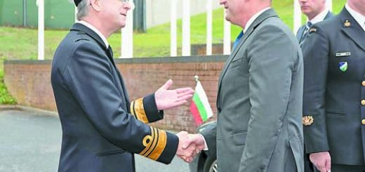 PRESIDENT RADEV (BULGARIA) VISIT TO ALLIED MARITIME COMMAND