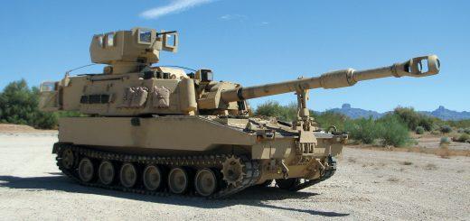 155-мм самоходни американски гаубици М109A5O