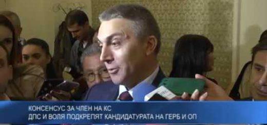 Kонсенсус за член на КС – ДПС и Воля подкрепят кандидатурата на ГЕРБ и ОП