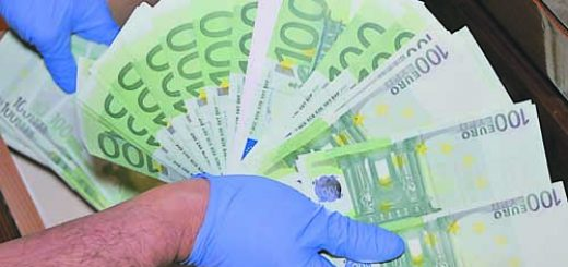 фалшиви евро
