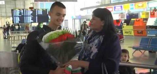 Вицешампиона от Световното военно първенство по таекуондо Владимир Далаклиев се прибра в България