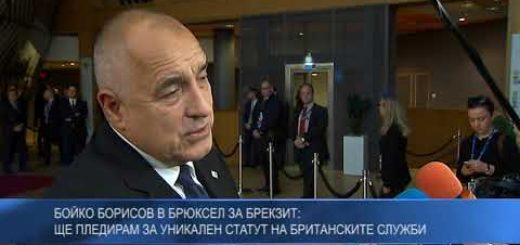Бойко Борисов в Брюксел за Брекзит: Ще пледирам за уникален статут на британските служби