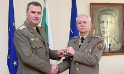 Бригаден генерал Валентин Кръстев встъпи в длъжност началник на щаба на СКС