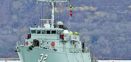 Цибър пристига в база Варна