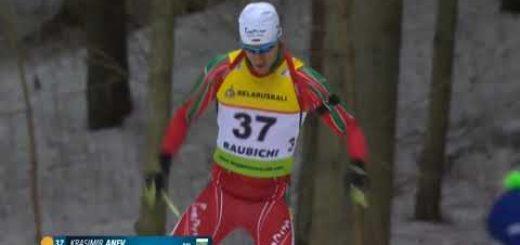 Kрасимир Анев спечели титлата в индивидуалната дисциплина на 20 км на ЕП по биатлон