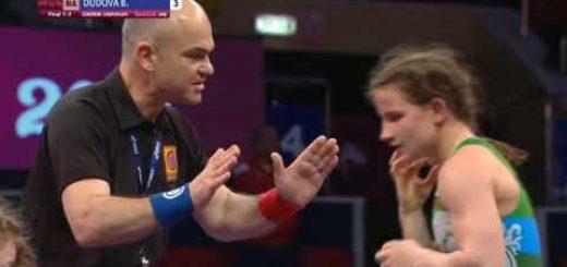 Биляна Дудова спечели третата си Европейска титла в женската борба