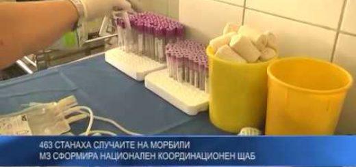463 станаха случаите на морбили: МЗ сформира Национален координационен щаб