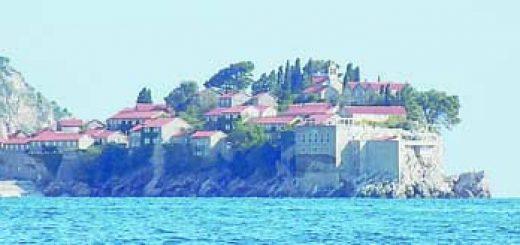 Остров Свети Стефан Фото авторът