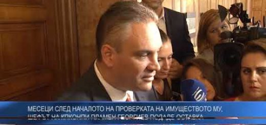 Месеци след началото на проверката на имуществото му, шефът на КПКОНПИ Пламен Георгиев подаде оставка