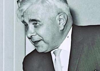 P.M. LEVY ESHKOL WELCOMING ICELAND P.M.           BJARNI BENEDIKTSSON TO HIS OFFICE IN JERUSALEM.
