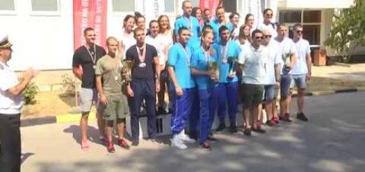 Отбора на ВВМУ триумфира в отборното класиране на първенството по плуване във Варна