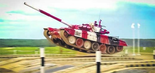 летящ танк