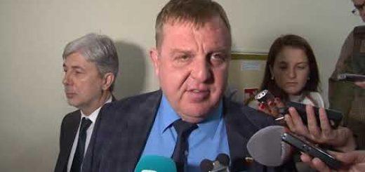Красимир Каракачанов с коментар за мача с Англия